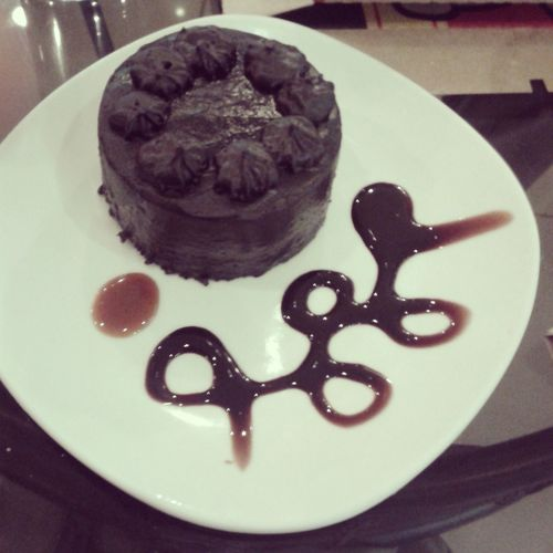 Chocolate Cake Tablea Foodporn Dessert Food Stories