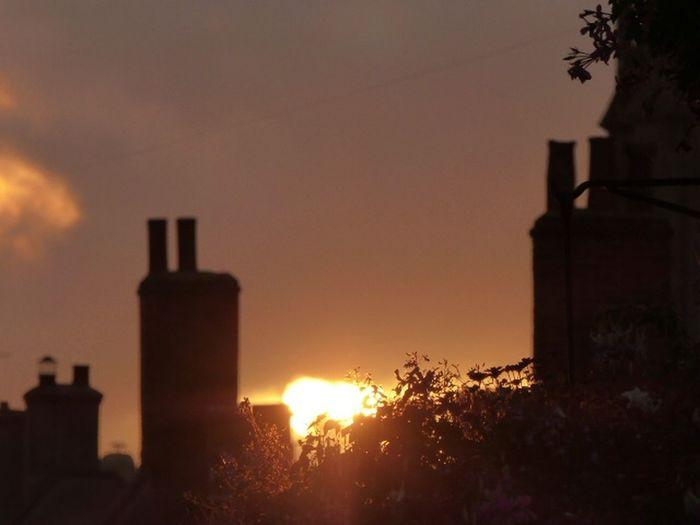 Gladstonbury Outdoors Sunset Sky Cimney