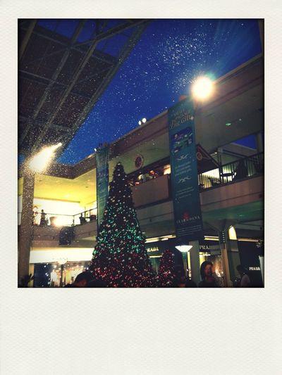 It's Christmas season :) too bad hawaii has no snow...
