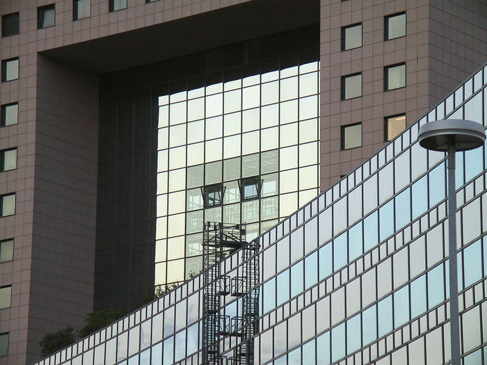 Frankfurt, Bankentürme, skyscrapers, Bankcity Architecture Building Exterior Built Structure Day Glass Outdoors Torhaus Window Colour Your Horizn