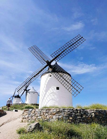 Castilla La Mancha Renewable Energy Wind Power Alternative Energy Wind Turbine Turbine Environmental Conservation Sky Architecture