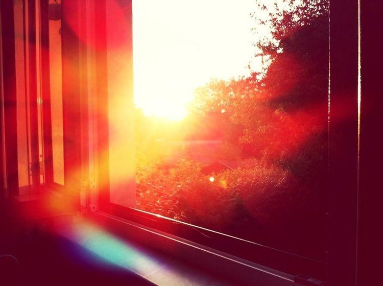 Sunset Sun_collection Bokeh Hello World le soir par la fenetre ...