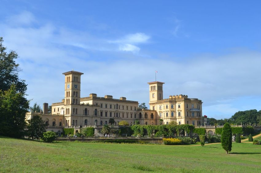 Architecture Built Structure History Summer House Osborne House Queen Victoria  Prince Albert Isle Of Wight, UK