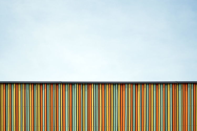 Architecture Façade Minimalism Multi Colored Pattern Simplicity Sky Striped The Graphic City Colour Your Horizn