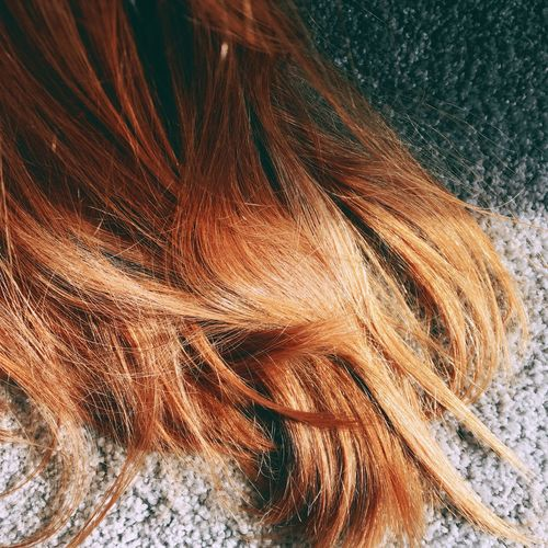 ✨🍊✨ Day Sun Sunlight Sunlight And Shadow Aesthetic Hair Sunbeam Summer Tranquility Redhead Red Hair Orange Red Haircolor Hairstyle Hair Orange Color Peaceful