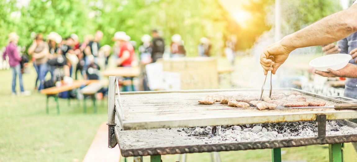 Barbecue Barbeque BBQ Chef Cooking Dinner Dinner Time Family Festival Food Human Hand Lunch Meal Men People Picnic Sunset
