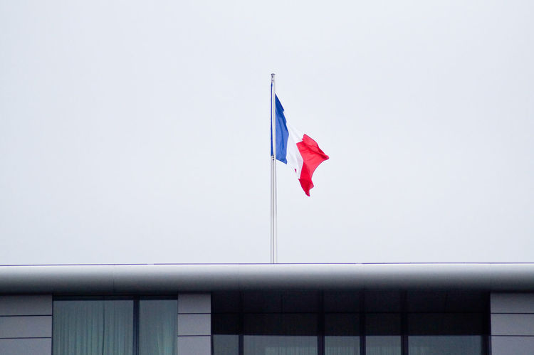Always Be Cozy Day Enjoy The New Normal Flag France French French Flag Low Angle View My Year My View National Flag No People Outdoors Patriotism Sky Capture Berlin
