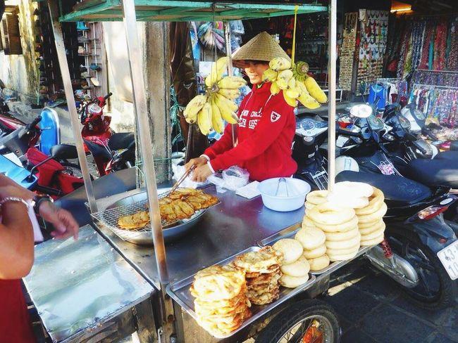 Vietnam Hello World Streetfood Pancakes Hoian, Vietnam