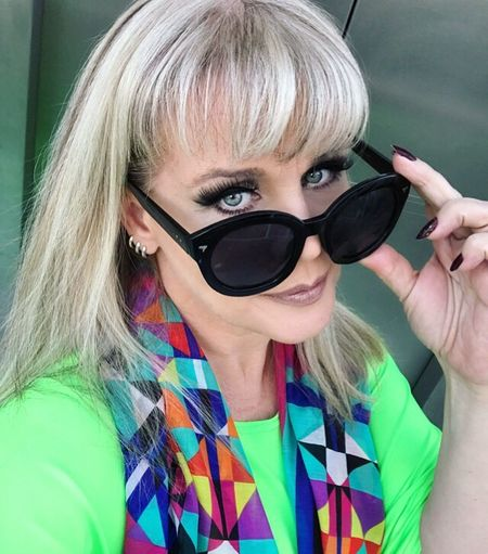 Eyes Wide Open Always That's Me! ErikaFaltin💫 Look Of The Day  Tvhostess Makeup Ready Love My Job Koisas De Kinha