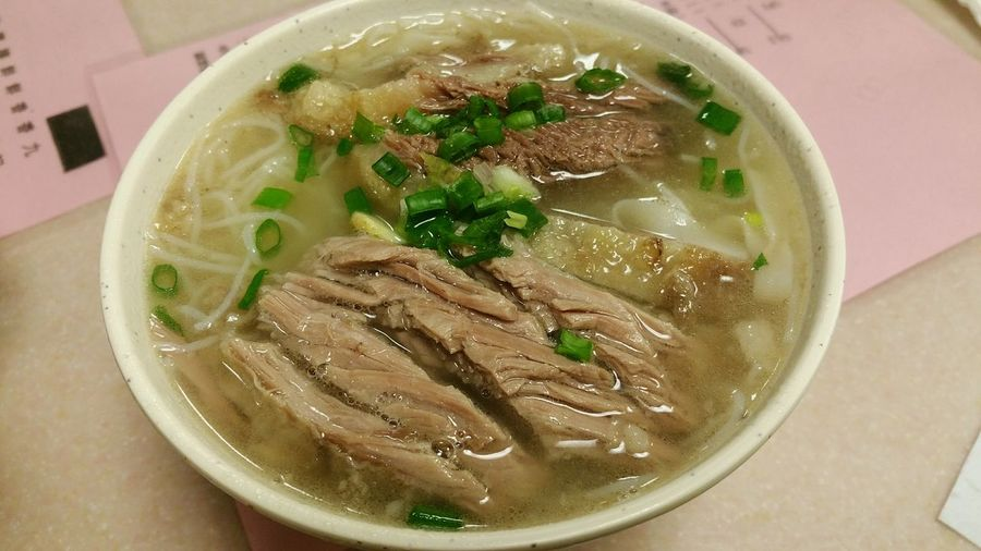 Miss eating this from hong kong. HongKong Beefbrisket Noodles Clearbroth Delicious