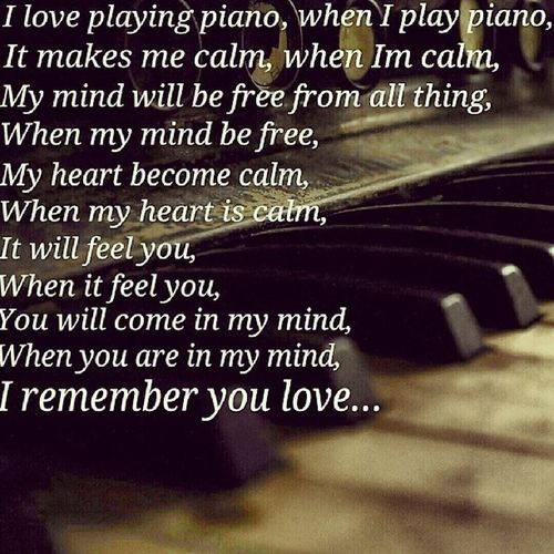 I ❤ piano Music Piano Playingpiano  Love