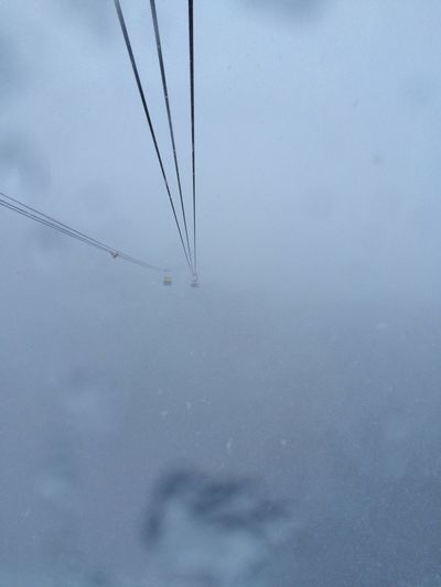 Traveling Way To Hell Nowwhere Going Down Bergbahn Austria Mountains Wetter Weather Fog Foggy Foggy Day Foggy Morning Can't See Anything Where Is The Sun? Mountainside Mountain Railway Funicular Fear Fearoftheunknown Fear Of Heights