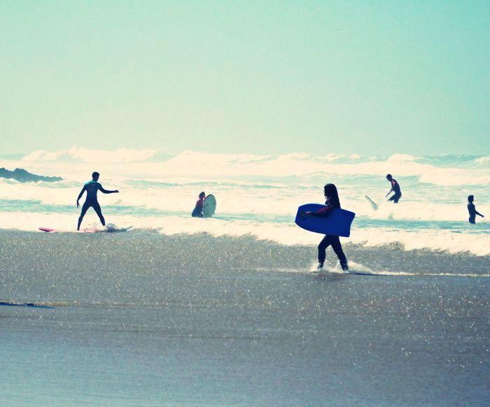 Beach BeachofPortugal Bodyboard Guincho Beach Guincho, Portugal Lifestyles Passion PeopleOfTheOceans Surf Wave