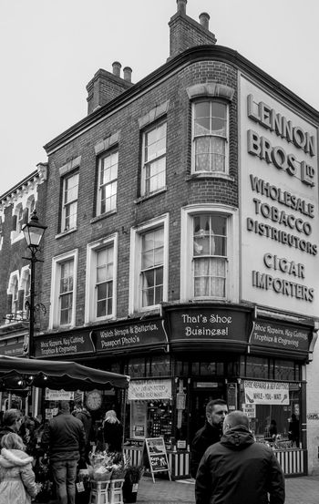 Lennon Brothers, Little Church Street, Rugby, Warwickshire FUJIFILM X-T10 Shops Architecture Monochrome Black And White Rugbytown Warwickshire Rugby