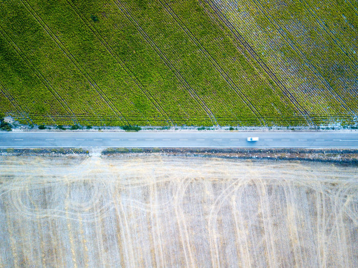 Aerial view of the countryside outside Valladolid in Spain. Agriculture DJI Mavic Pro DJI X Eyeem Field Grass Road Aerial View Beauty In Nature Cereal Plant Close-up Crop  Day Grass Green Color Growth Harvest Nature No People Outdoors Water