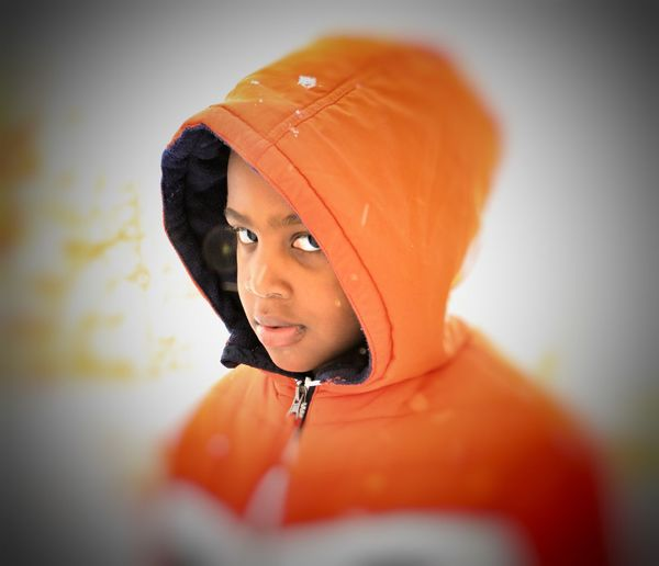 Orange Color One Person Headshot Front View People Close-up Portrait Real People Indoors  Rochesternewyork Urban Lifestyle Urbexexplorer Urban Photography Urban Outdoors. Rochester, NY Hello World People Photography Check This Out Children Photography Capture The Moment Popular Photo Popular Newyork New York City