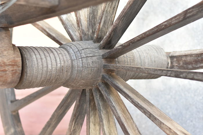 cart wheel core as background Cart Wheel Cart Wheel Core Close-up Day No People Outdoors Wood - Material Wooden Wheel