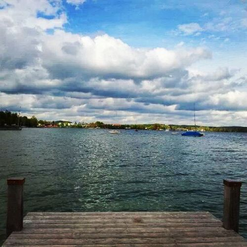 Ready to jump in? Starnberg Germany Munich Travelphotography Travels Backwhenihadfreedom Lakes