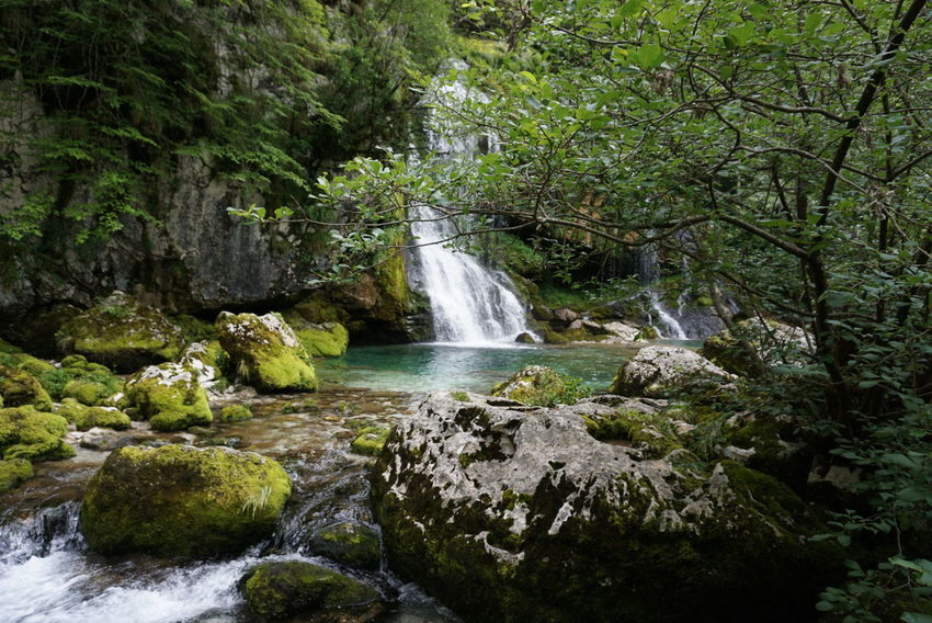 Slovenia Waterfall Nature Water Outdoors Travel Holiday Soca River EyeEmNewHere Landscape