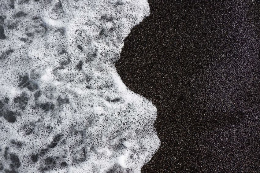 Nature Pattern, Texture, Shape And Form Perspectives On Nature Wave Beach Blackandwhite Contrast High Angle View Nature Outdoors Pattern Sand Waves, Ocean, Nature
