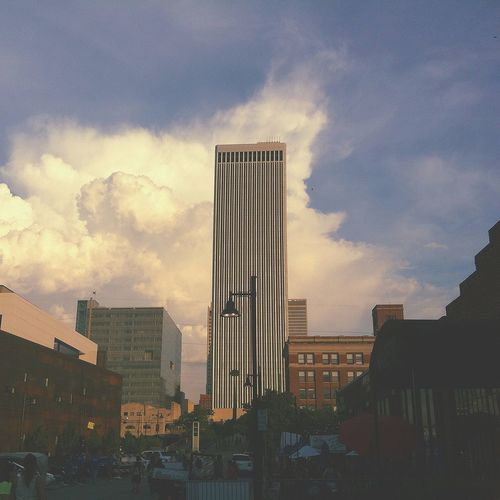 Downtown for the Tulsa Oklahoma Center of the Universe festival // 50,000 people | edited with the Viewmatic app Viewmatic