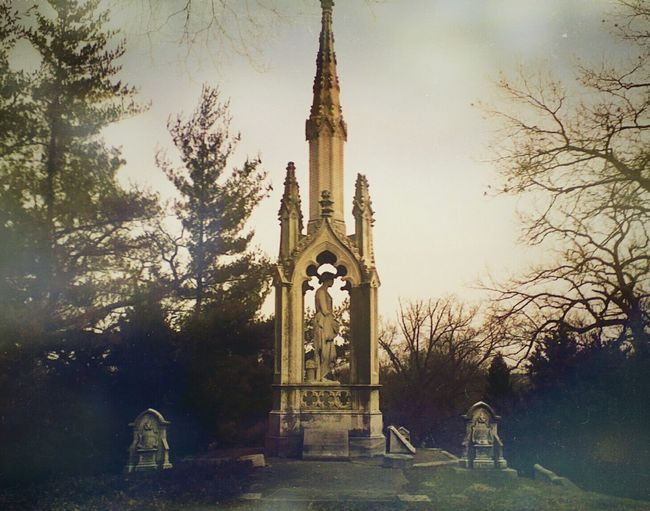 Eternal Peace Beautiful Nature Cemetery Photography