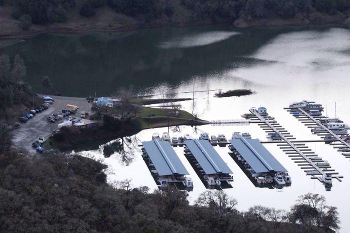 High Angle View Outdoors No People Marina Boats Boatdock Lake Lake View Lake Sonoma EyeEmNewHere