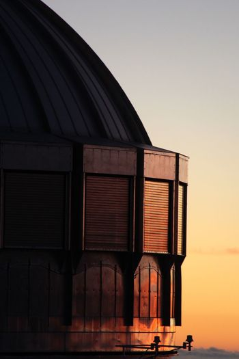 Sunset at the top of a volcano Big Island Hawaii Hawaii Mauna Kea Observatories Mauna Kea View From Above Volcano Observatory Sunset Built Structure Architecture Building Exterior Sunset No People Outdoors Clear Sky EyeEmNewHere EyeEmNewHere