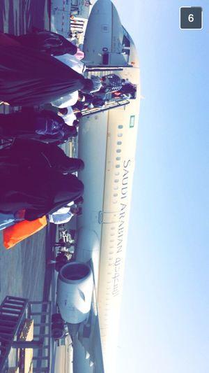 At king Abdulaziz airport
