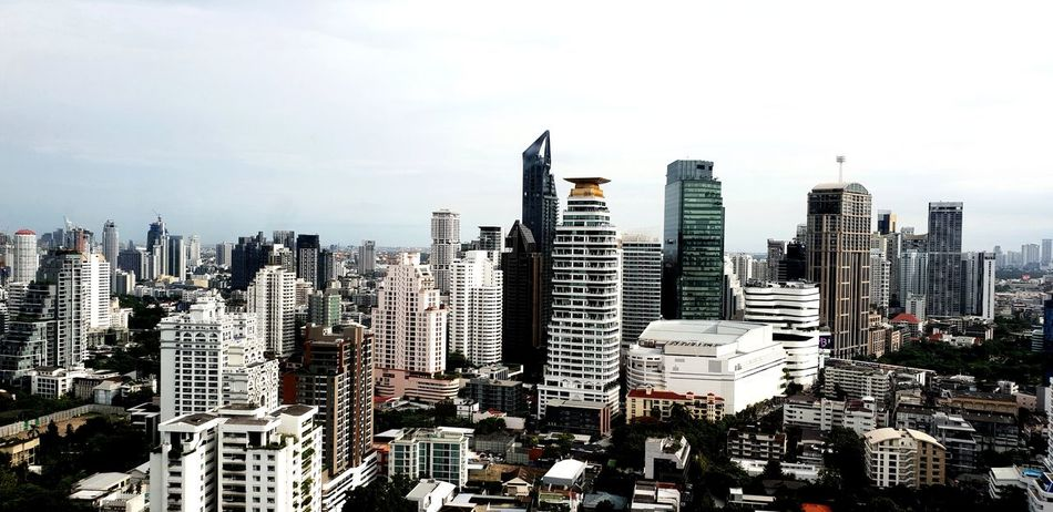 City Cityscape Urban Skyline Modern Skyscraper Aerial View High Angle View Sky Architecture Building Exterior