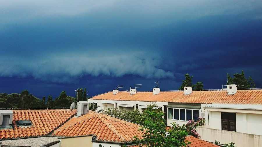 ...angry clouds...