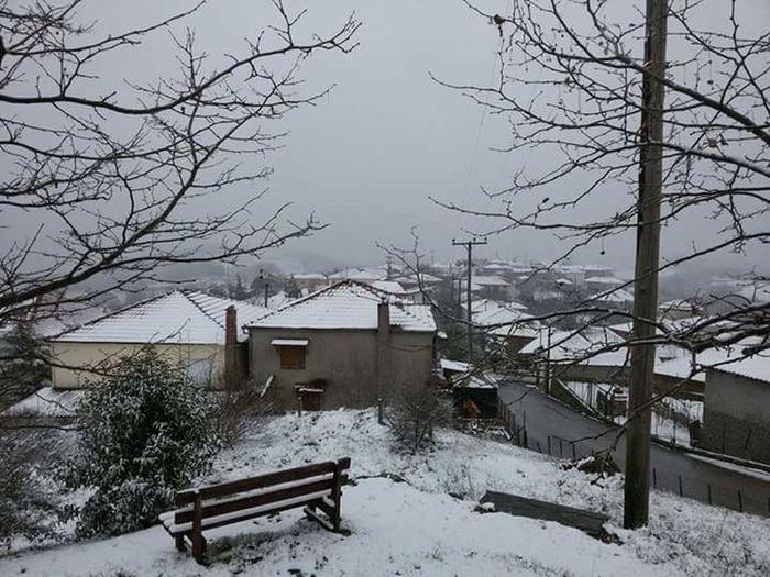 First Eyeem Photo Snow Greece