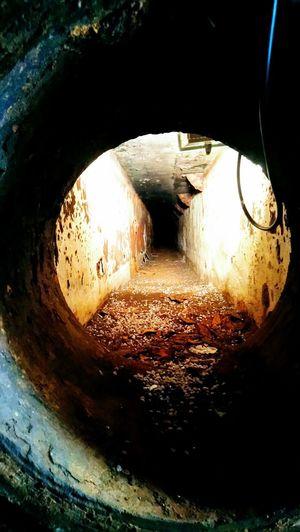 Rusty machine Steampunk Water Planet Earth Fish-eye Lens Tunnel Underground HUAWEI Photo Award: After Dark #urbanana: The Urban Playground Be Brave