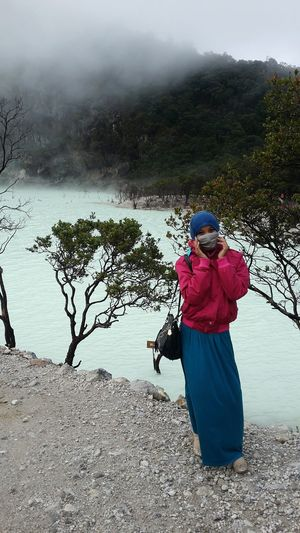 It's me, Kawah Putih Bandung Beautiful Indonesia Hi! Walking Around Eyem Best Shots Nature_collection First Eyeem Photo Taking Photos Hello World