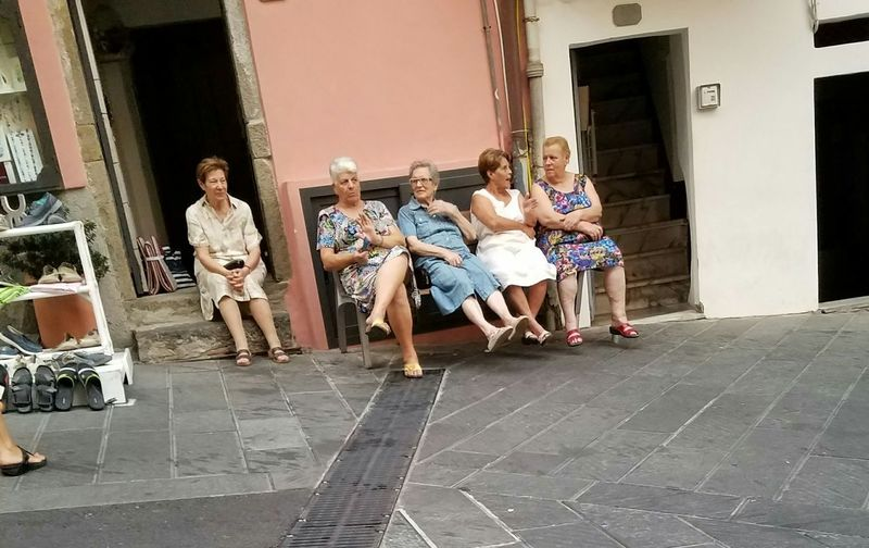Women Around The World Togetherness Neighborhood Map Riomaggiori, Italy