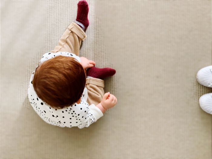 Cildren Beauty In Nature Mum Children Kids Love EyeEm Selects Directly Above Child High Angle View Childhood Indoors  Offspring Full Length Casual Clothing Real People Innocence Women Clothing Toy Food And Drink Females Table Hand