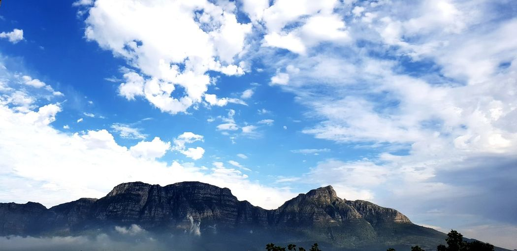 Majestic Table Mountain Breath Taking View Mountain Blue Mountain Peak Sky Mountain Range Cloud - Sky Landscape Geology Physical Geography Natural Landmark