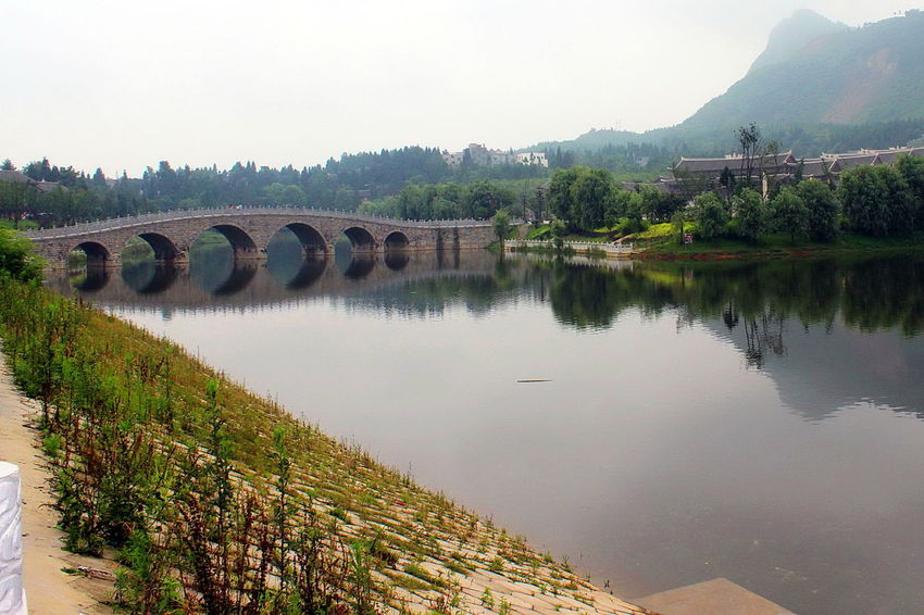 Bridge - Man Made Structure Bridges Cultural Art Cultural Heritage Cultural Site Of Han Dynasty Culturalrelic Scenery Scenery Shots Scenic View Scenics Colourful China,Guizhou China Scenic Tranquility