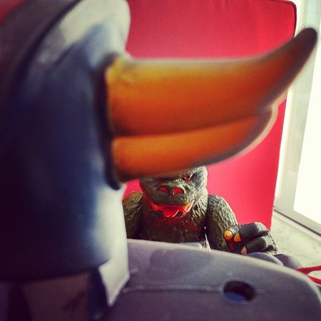 Goldorak vs Godzilla . Toys Toycollection Geek