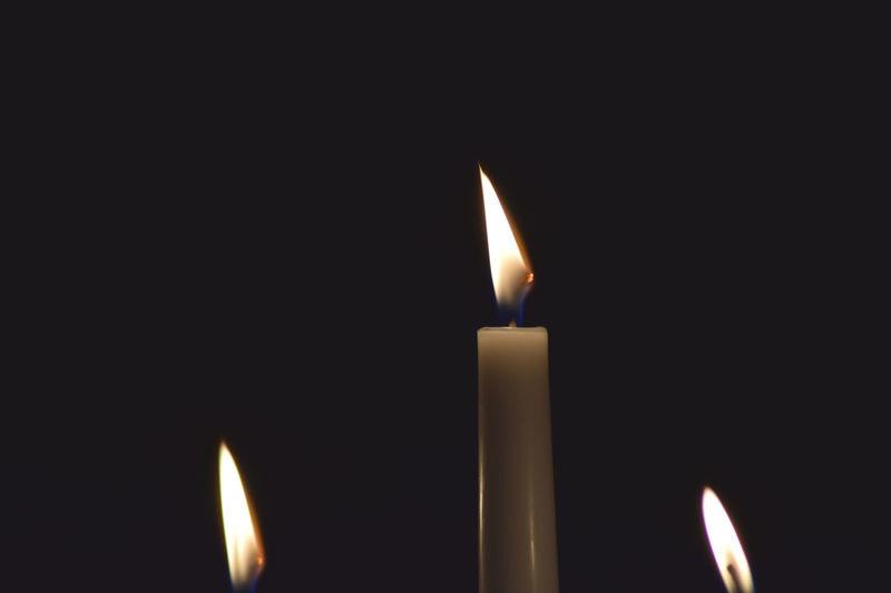 Black Background Burning Candle Close-up Diya - Oil Lamp Fire - Natural Phenomenon Flame Glowing Heat - Temperature Illuminated Indoors  Inferno Lighting Equipment Luminosity Melting Night No People Studio Shot Tea Light