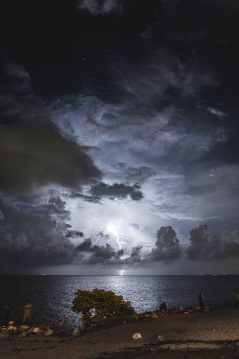 Late night thunder Thunder Thunderstorm Storm Clouds Miami EyeEm Best Shots EyeEm EyeEm Nature Lover
