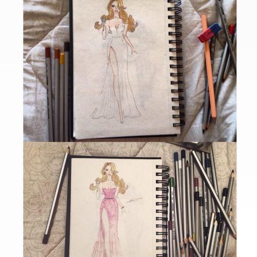 Ilustration Fashion Art Drawing