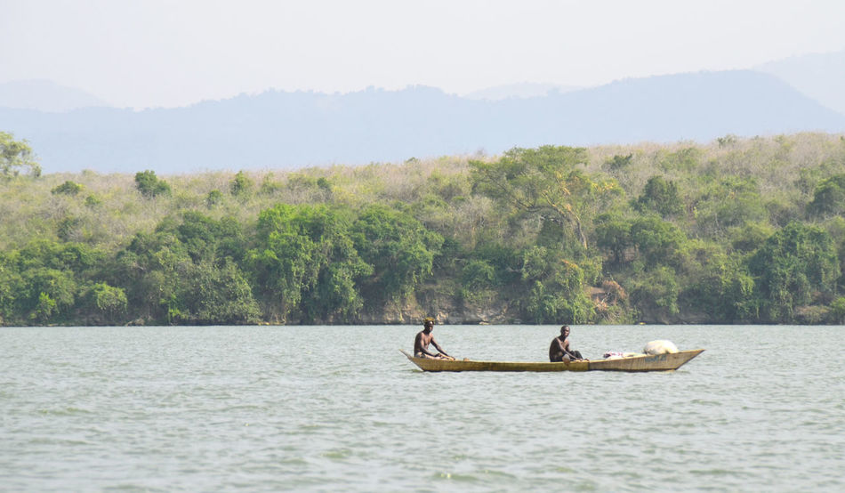 Africa Boat Fishing Fishing Boat Fishing Village People Uganda  Village Life Water Work