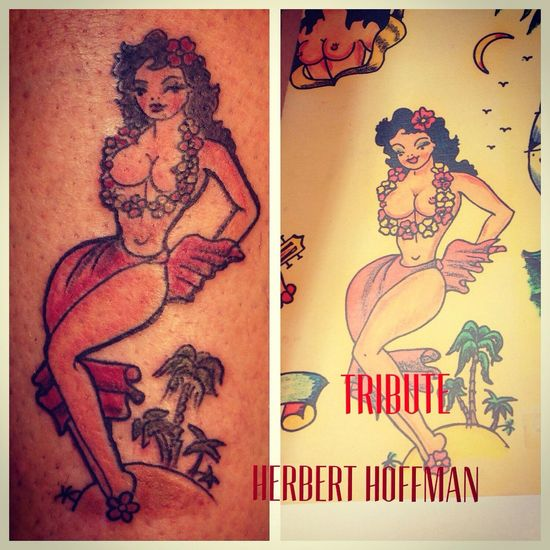 Herbert hoffman tribute Getting Inked No Pain, No Gain Tattoo inked tattoo Inked