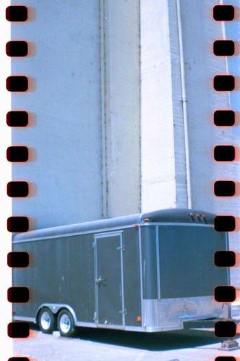 Film Photography No People Horse Trailer Transportation Sprockets Belair Panorama Treasure Island Film Koduckgirl