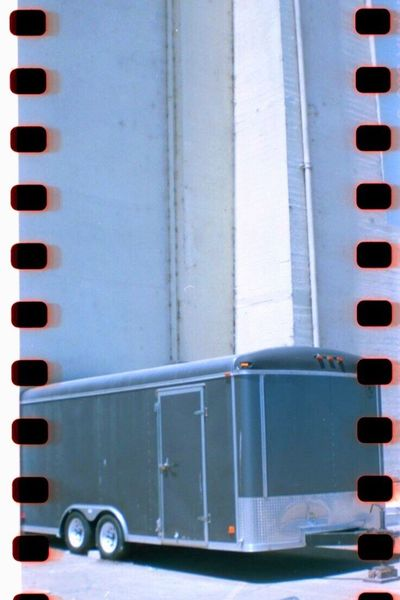 Film Photography No People Horse Trailer Transportation Sprockets Belair Panorama Treasure Island Film Koduckgirl
