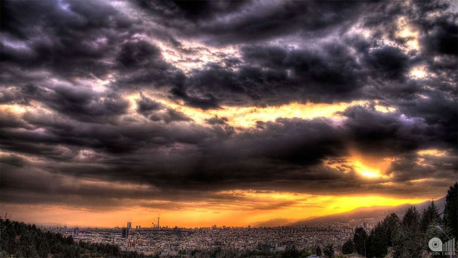 Sunset Sunset_collection Sunset And Clouds  Sunset_captures sunset sun clouds skylovers sky nature beautifulinnature naturalbeauty photography landscape [ Sunsetphotographs Sunset View. Sunset Colors City View  Hdrphotography Hdr_lovers Hdr_captures غروب خورشید غروب_آفتاب غروب تهرون