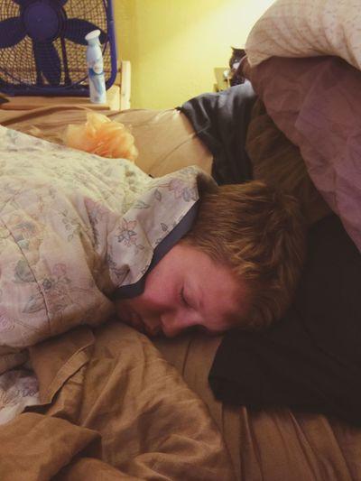Always Be Cozy Childhood Sleeping Tiredness