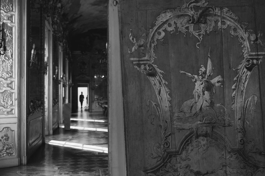 Alone Atmosphere Black & White Historical Building Old But Awesome Art Awesome Place Beautiful Place Black And White Friday Bookcover Film Noir Style Going Away Indoors  Light And Shadow Man Walking Alone Monochrome Mysterious Mystery Old Buildings Old Style Sidelight