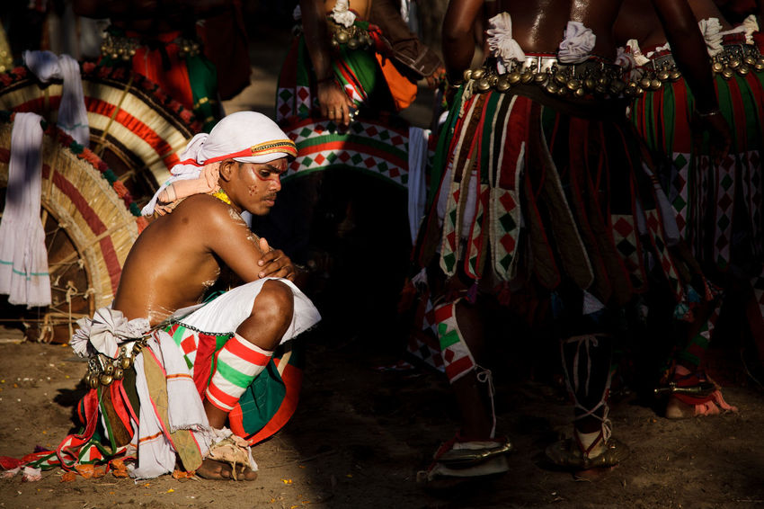 Adult Adults Only Arts Culture And Entertainment Cultures Full Length Men Music Musician Night One Person Outdoors People Performance Real People Sitting Stage Costume Traditional Clothing Traditional Dancing